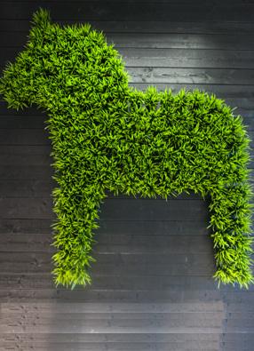 A Dalecarlian horse
