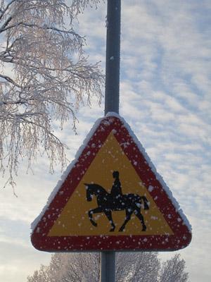 horse sign (1 av 1)
