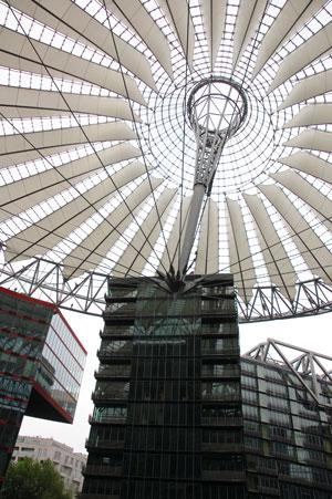 The Sony Center in Berlin
