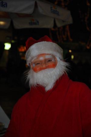 Many Santa Clauses